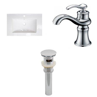 Drop-in 24 Single Bathroom Vanity Top