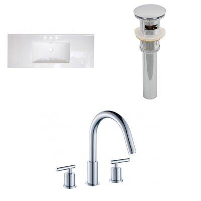 Drop-in 48 Single Bathroom Vanity Top