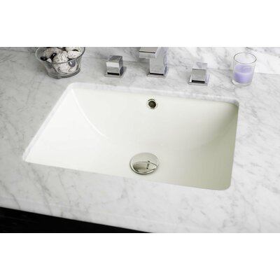 Nixon Floor Mount 30.5 Single Bathroom Vanity Set Top Finish: Bianca Carara, Sink Finish: White, Faucet Mount: Single Hole