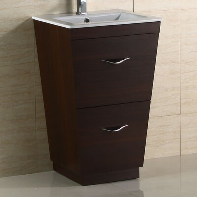 "29"" Modern Vanity Base Hardware Finish: Chrome"