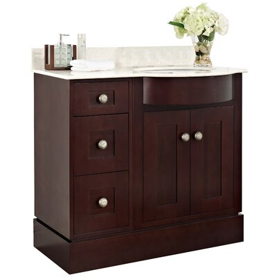 Tiffany 36 Transitional Vanity Base Set