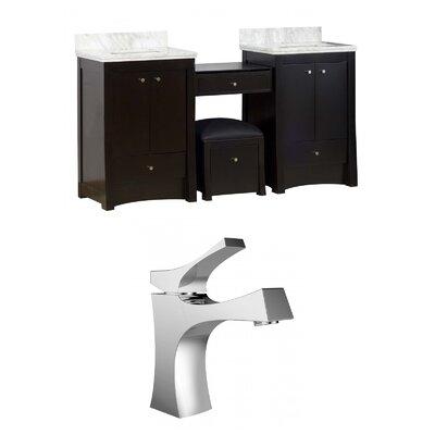 Elite 70 Double Bathroom Vanity Set