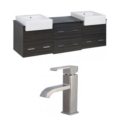 Xena Farmhouse 72 Double Bathroom Vanity Set