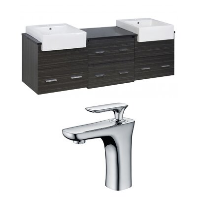 Bengtson 72 Double Bathroom Vanity Set