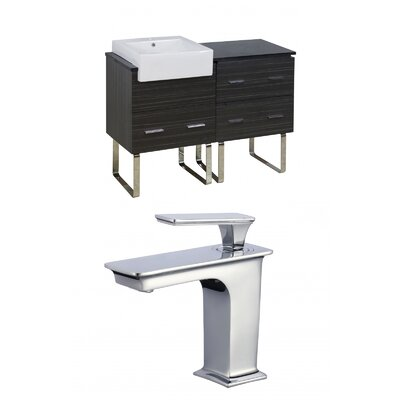 Xena Farmhouse 48 Single Bathroom Vanity Set