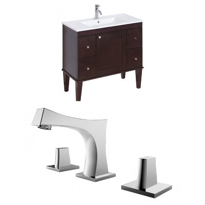 Roxy 36 Single Bathroom Vanity Set