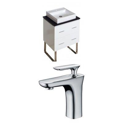 Xena Quartz 24 Single Bathroom Vanity Set