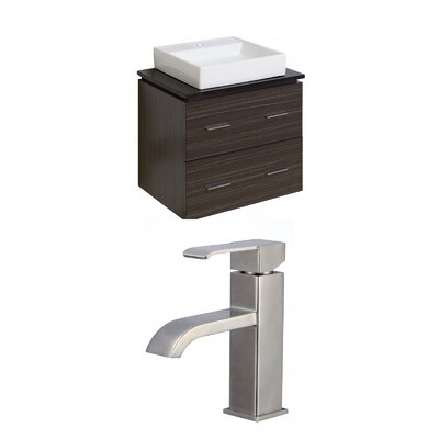Xena Quartz 24 Single Bathroom Vanity Set