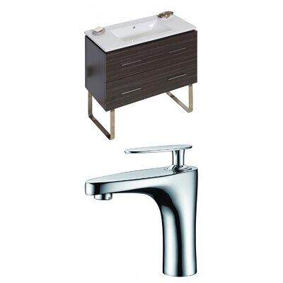 Kyra 36 Wood Single Bathroom Vanity Set