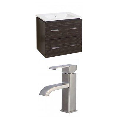 Maryalice Wall Mount 23.75 Single Bathroom Vanity Set
