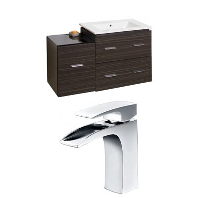 Xena 38 Single Bathroom Vanity Set