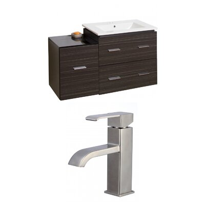Xena 38 Single Bathroom Vanity Set