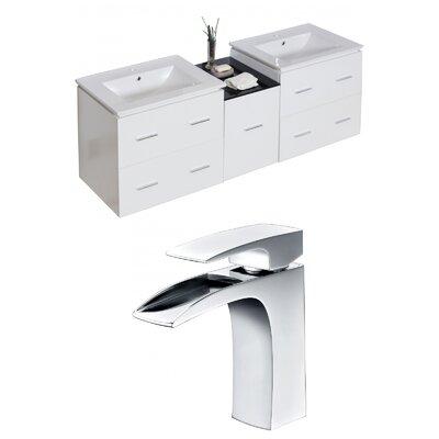 Kyra 62 Double Bathroom Vanity Set