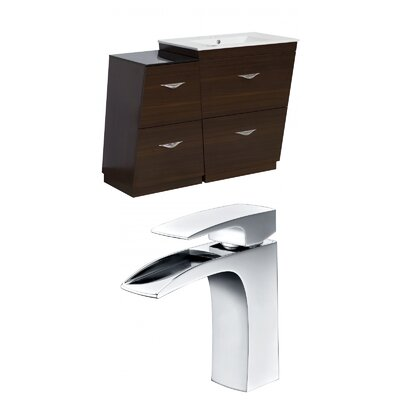 Vee 40.5 Single Bathroom Vanity Set