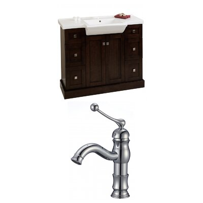 Prelude 40 Single Bathroom Vanity Set