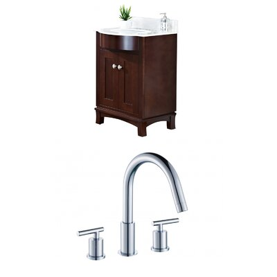 Kimbrough Floor Mount 25.5 Single Bathroom Vanity Set