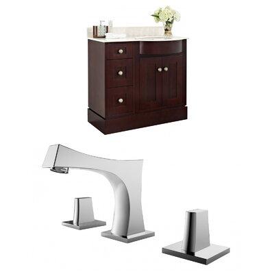 Kester 36 Wood Single Bathroom Vanity Set Sink Finish: Biscuit