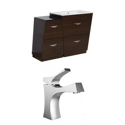 Vee 47.5 Single Bathroom Vanity Set