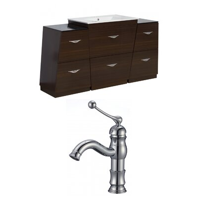 Vee 63 Single Bathroom Vanity Set