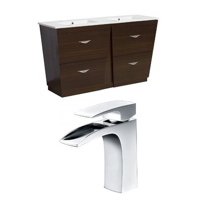 Vee 60 Double Bathroom Vanity Set