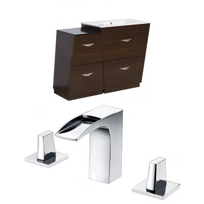Vee 48 Single Bathroom Vanity Set