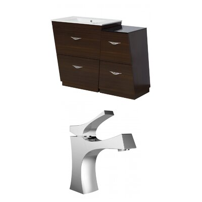 Vee 40.5 Single Bathroom Vanity Set