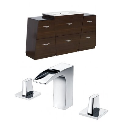 Vee 60 Single Bathroom Vanity Set