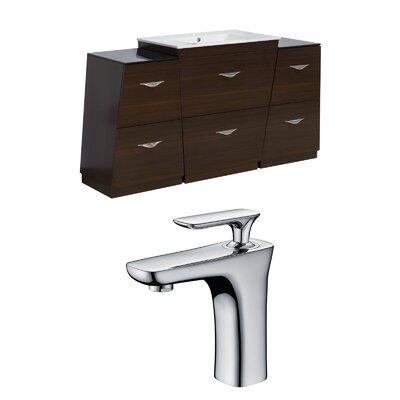 Vee 67 Single Bathroom Vanity Set