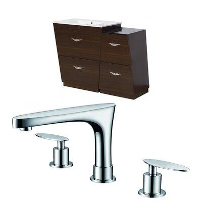 Vee 48 Single Bathroom Vanity Set