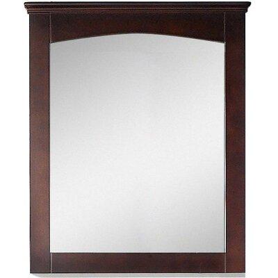 Modern Wood Mirror Size: 31.5