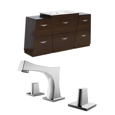 Vee 67 Single Bathroom Vanity Set