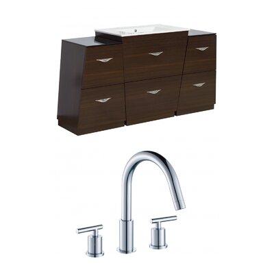 Vee 63 Single Bathroom Vanity Set