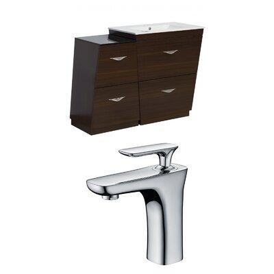 Vee 47.5 Single Bathroom Vanity Set
