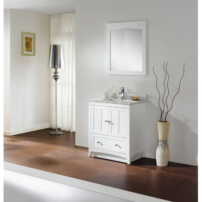 30 Modern Vanity Base Base Finish: White
