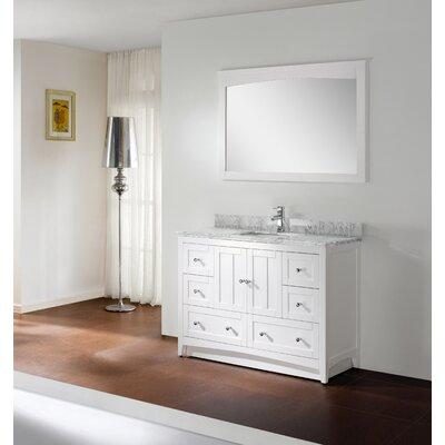 Shaker 48 Modern Vanity Base Set Base Finish: White