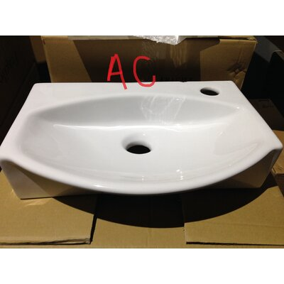Specialty Specialty Vessel Bathroom Sink with Overflow