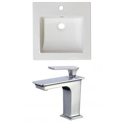 Nikki Ceramic 22 Single Bathroom Vanity Top