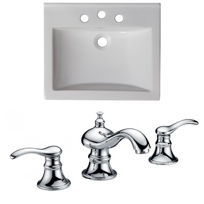 Omni 21 Single Bathroom Vanity Top