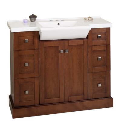 Prelude 40 Bathroom Vanity Set Faucet Mount: 4 Center