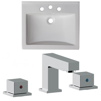 Omni 21 Single Bathroom Vanity Top