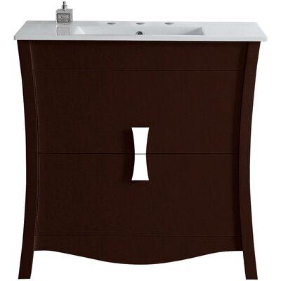 Cataldo Exquisite Floor Mount 35.5 Single Bathroom Vanity Set
