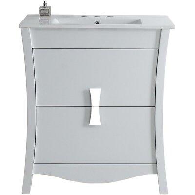 Cataldo Floor Mount 30 Single Bathroom Vanity Set