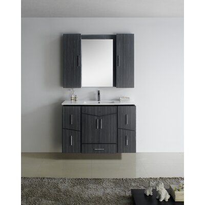 Zen Modern Wall Mount 47 Vanity Base