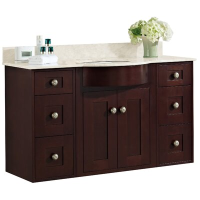 Tiffany 48 Transitional Wall Mount Vanity Base Set