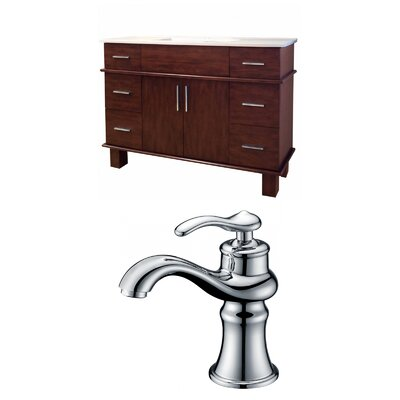 Alum 48 Single Bathroom Vanity Set