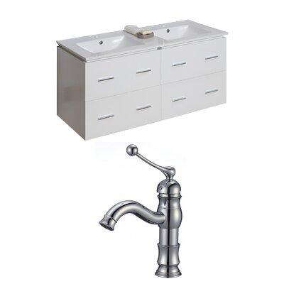 Xena 48 Double Bathroom Vanity Set