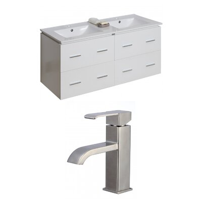 Xena 48 Double Bathroom Vanity Set