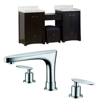 Elite 70 Double Bathroom Vanity Set