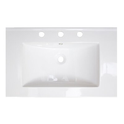 24 Single Bathroom Vanity Top Faucet Mount: 8 Center