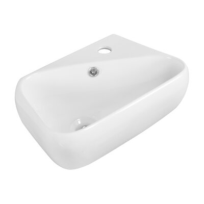 18 Wall Mount Bathroom Sink